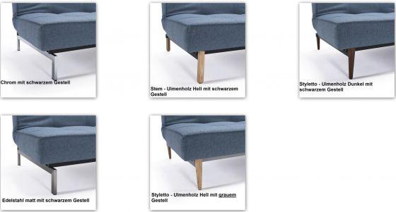 Splitback Design Schlafsofa Online Kaufen Designbotschaftcom