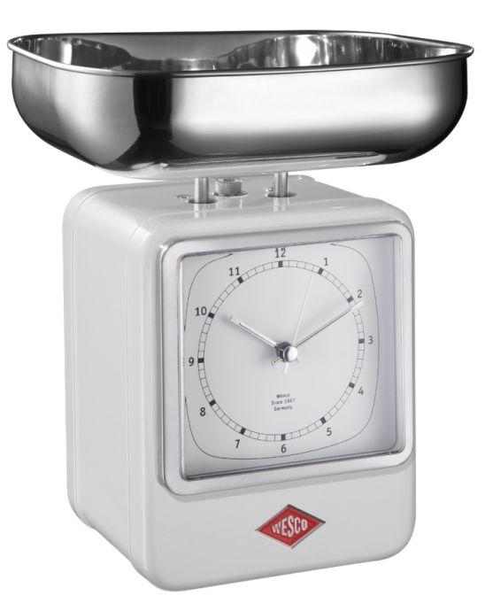 Retro Kuchenwaage Mit Uhr Online Kaufen Designbotschaft Com