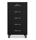 Malibu 5215 - Kommode - Schubladenschrank - Schwarz