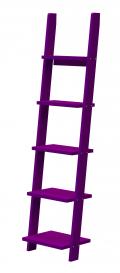 Pisa - Bücherregal - Violett