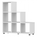Cubo - Trip Trap Stufenregal - Weiß