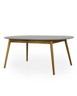 Esstisch - Scandi Oval - Ausziehbar - 180x105 cm