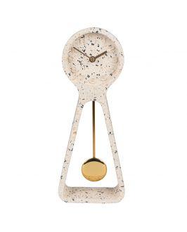 Tischuhr - Pendulum Terrazzo