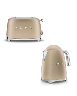 Smeg - Set Wasserkocher und Toaster - matt