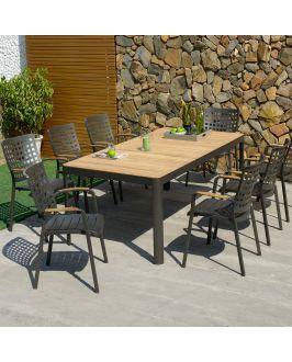 Set - Salina Gartentisch 210x100 cm