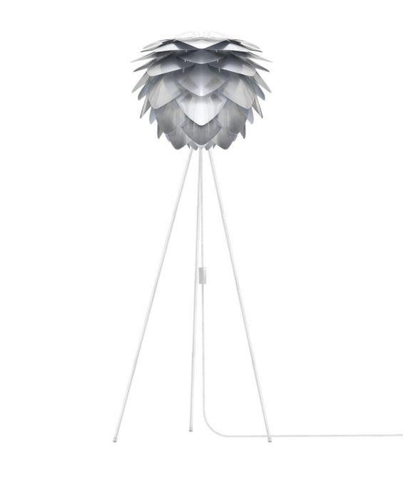 Silvia - Stehleuchte - Silber