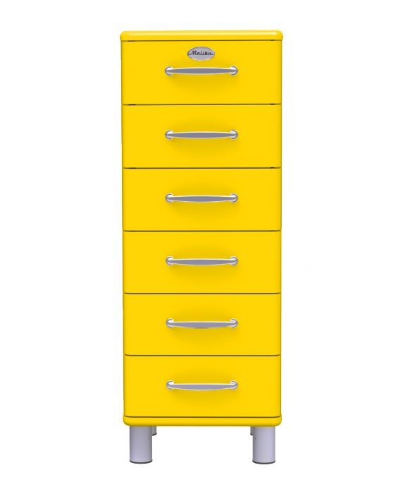 Malibu 5106 - Schubladenschrank - Gelb