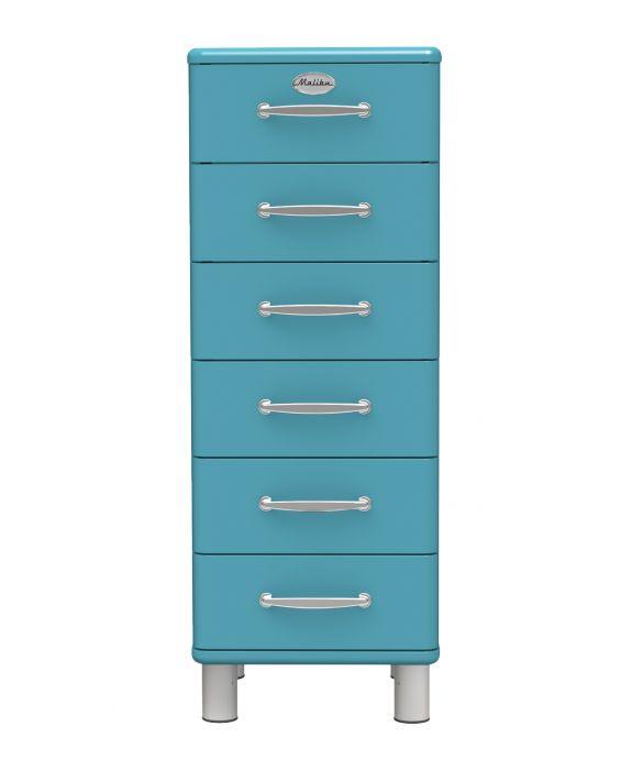 Malibu 5106 - Schubladenschrank - Ocean Blue