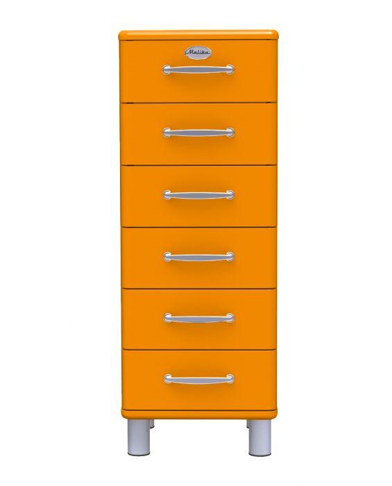 Malibu 5106 - Schubladenschrank - Orange