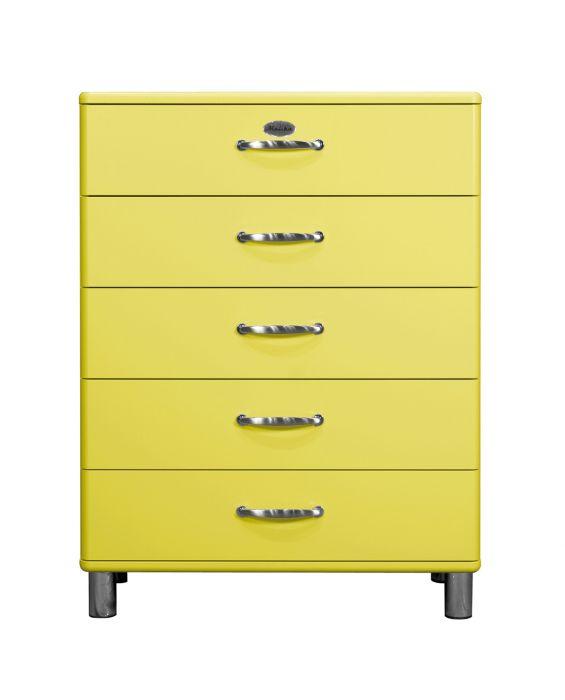 Malibu 5295 - Kommode - Schubladenschrank - Gelb