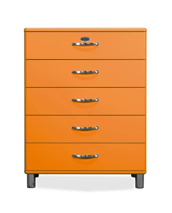 Malibu 5295 - Kommode - Schubladenschrank - Orange