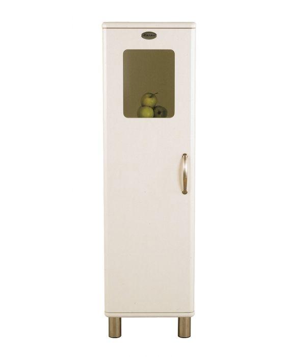 Malibu 5164 - Badezimmer Halbvitrine - Weiß