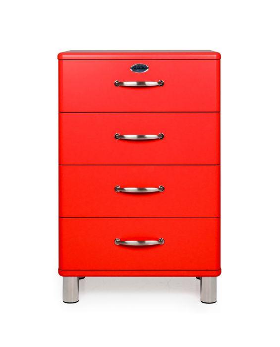 Malibu 5116 - Kommode - Schubladenschrank - Rot