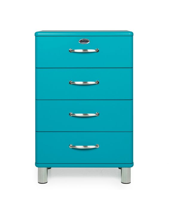 Malibu 5116 - Kommode - Schubladenschrank - Ocen Blue