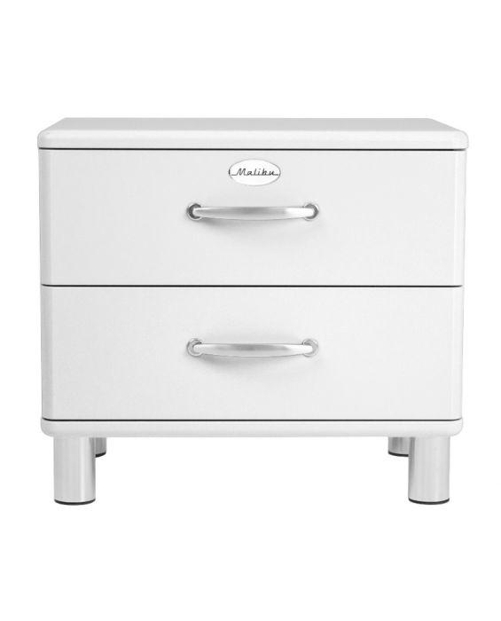 Malibu 5212 - Nachttisch - Kommode - Weiß