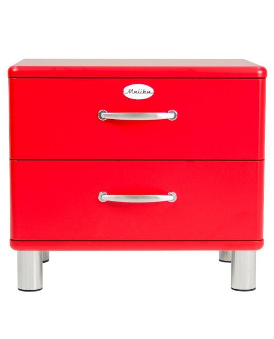Malibu 5212 - Nachttisch - Kommode - Rot