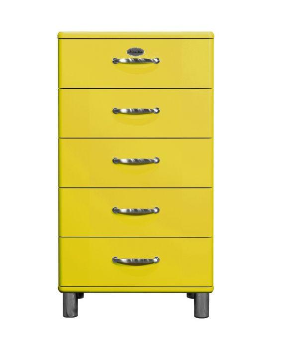 Malibu 5215 - Kommode - Schubladenschrank - Gelb