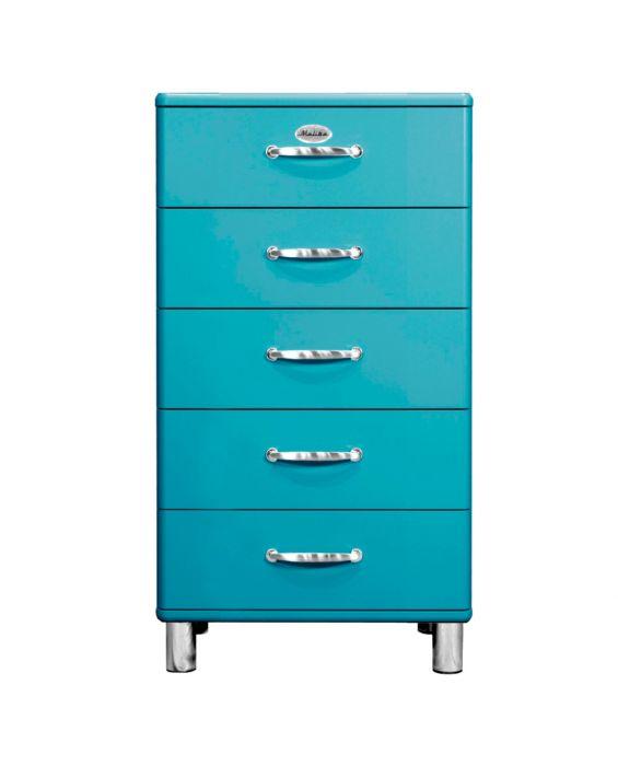Malibu 5215 - Kommode - Schubladenschrank - Ocean Blue