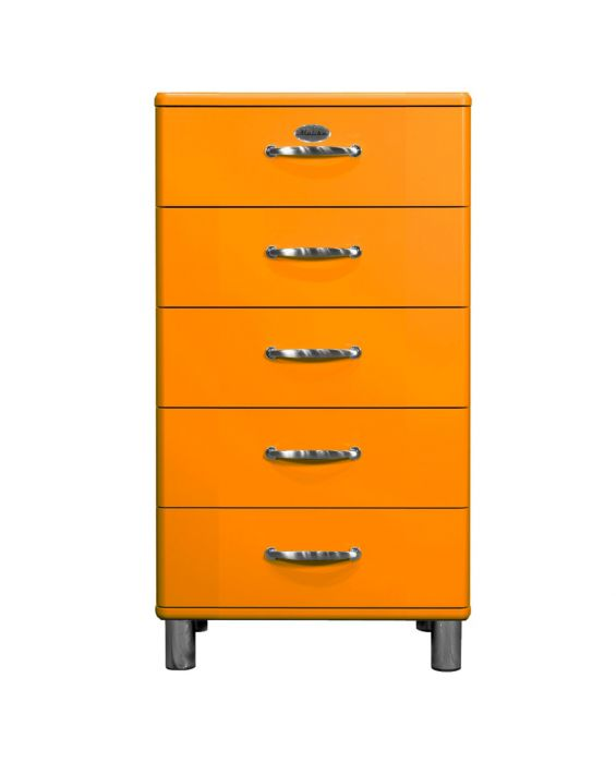 Malibu 5215 - Kommode - Schubladenschrank - Orange