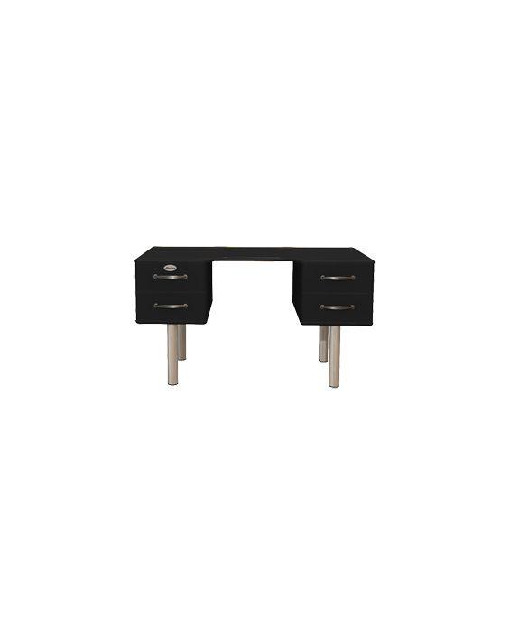 Malibu 5253 - Schreibtisch - Bürotisch - Schwarz