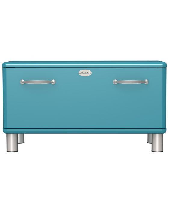 Malibu 5291 - Schuhschrank mit Sitzbank - Ocean Blue