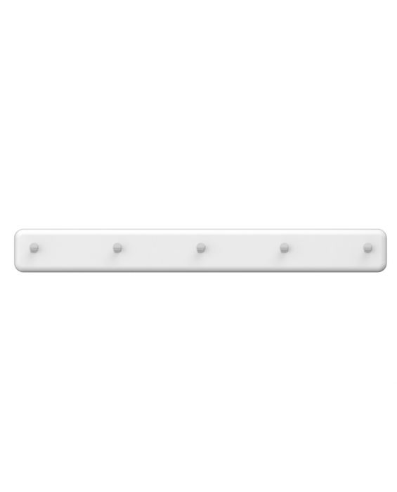 Malibu 5297 - Garderobenleiste - Weiß