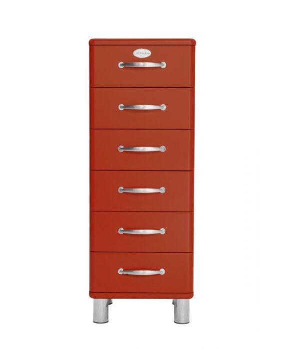 Malibu 5106 - Schubladenschrank - Rot