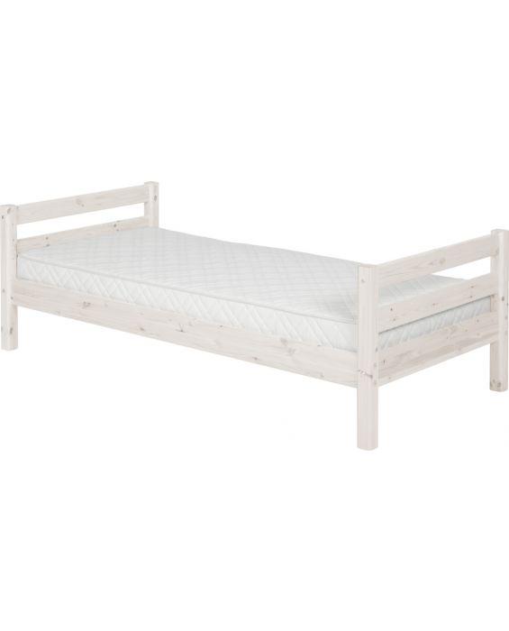 Classic - Einzelbett  - 190 cm - Weiß