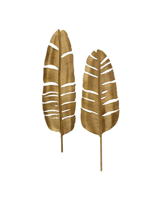 Wandschmuck - Feathers - 2er Set