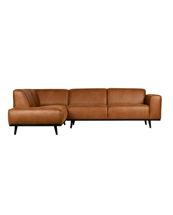Ecksofa - Statement Recamiere Links - Braun