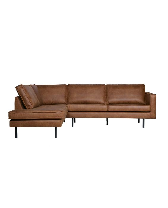Ecksofa - Rodeo Links - Braun