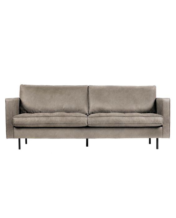 Sofa - Rodeo - Classic - 2,5-Sitzer - Hellgrau