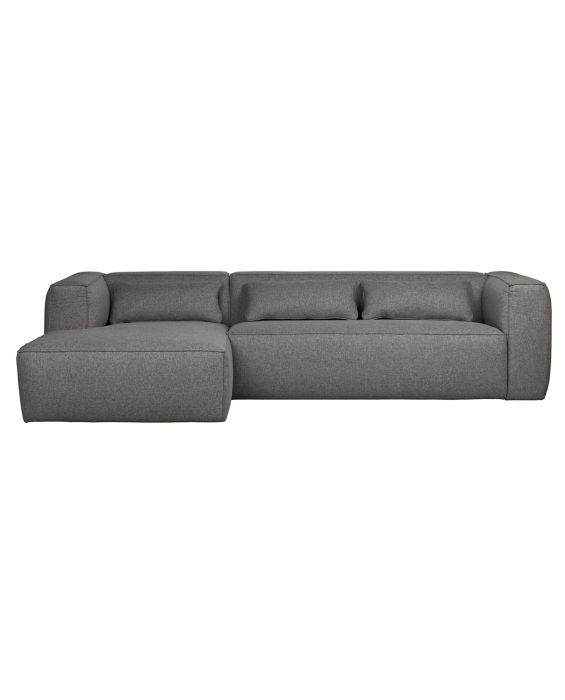 Ecksofa - Bean 2.0 Recamiere Links - Grau