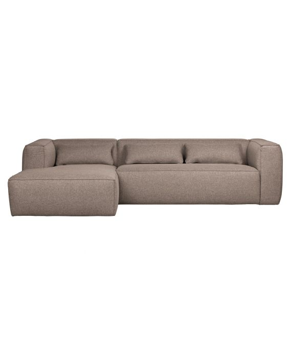 Ecksofa - Bean 2.0 Recamiere Links - Braun