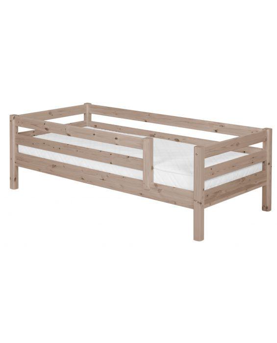 Classic - Einzelbett  - 200 cm mit  3/4 Absturzsicherung - Terra