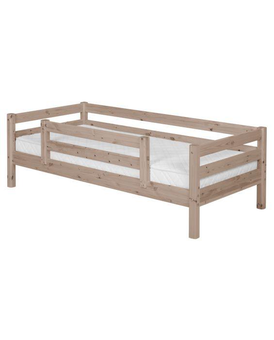 Classic - Einzelbett  - 200 cm mit 1/2 Absturzsicherung - Terra
