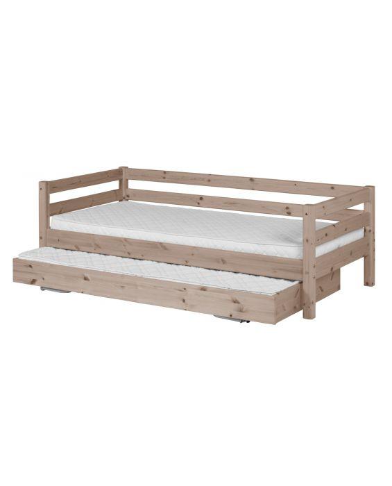 Classic - Einzelbett  - 200 cm mit Ausziehbett - Terra
