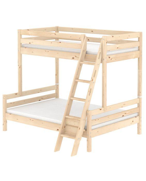 Classic - Etagenbett mit Doppel- und Einzelbett - 200 cm