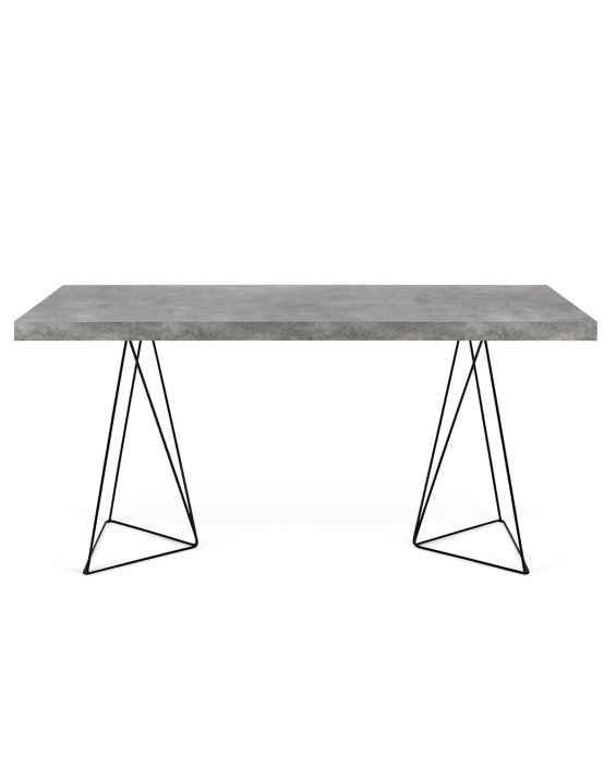 Schreibtisch - Multi 160cm - Grau