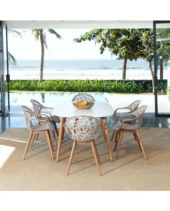 Set - Sol Gartentisch 2.0 7-teilig