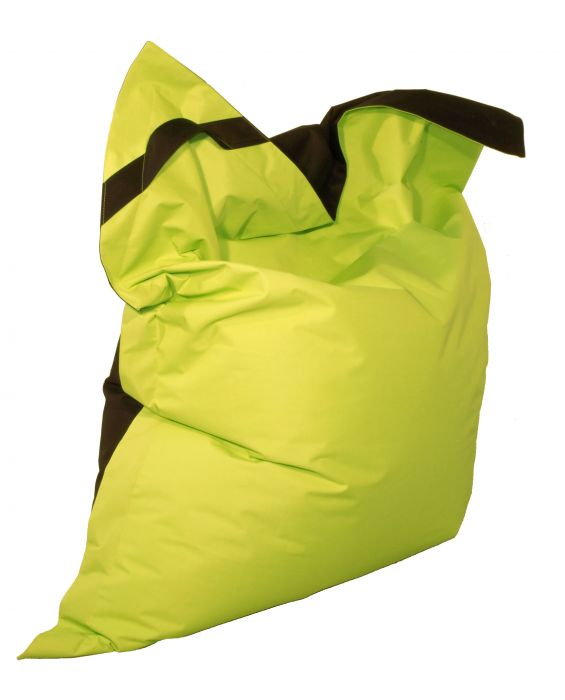 Cuore - Sitzsack - Apfelgrün/ Schwarz