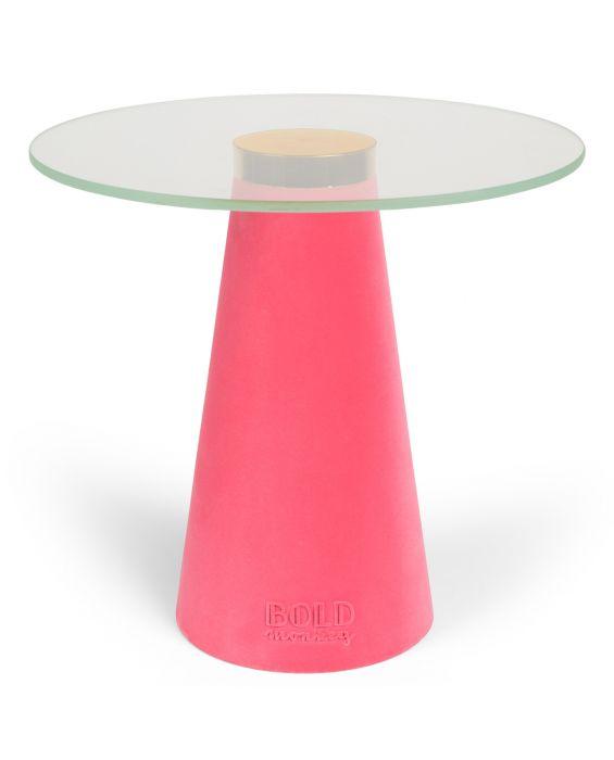 Beistelltisch - Leader of the Fanclub - Pink