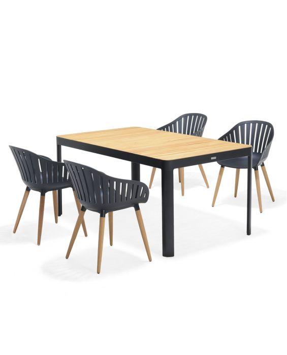 Set - Gartentisch - Salina 160 cm
