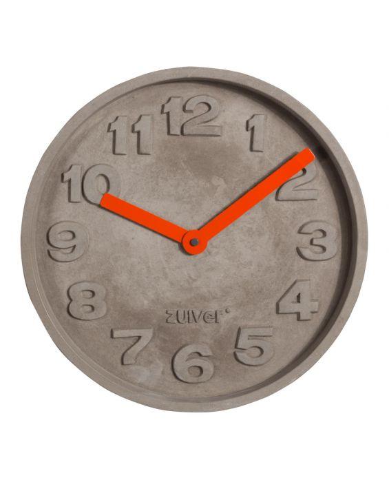 Concrete Time - Wanduhr
