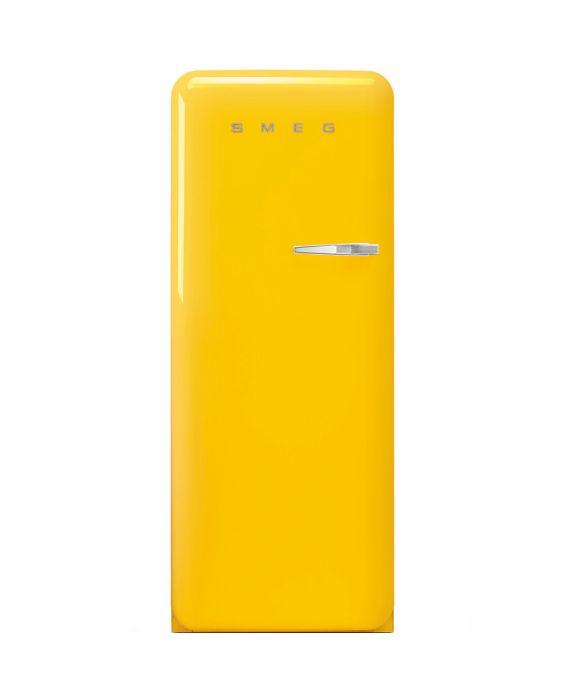 Smeg FAB28LYW3 - Standkühlschrank - Gelb