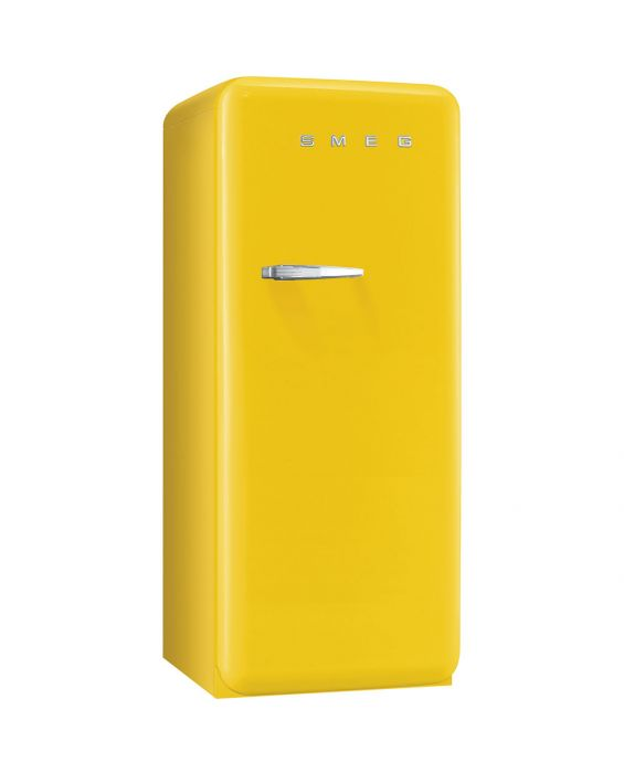 Smeg FAB28RG1 - Standkühlschrank - Gelb