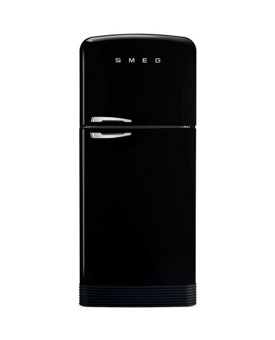Smeg FAB50RBL - Standkühlgefrierkombination - Schwarz