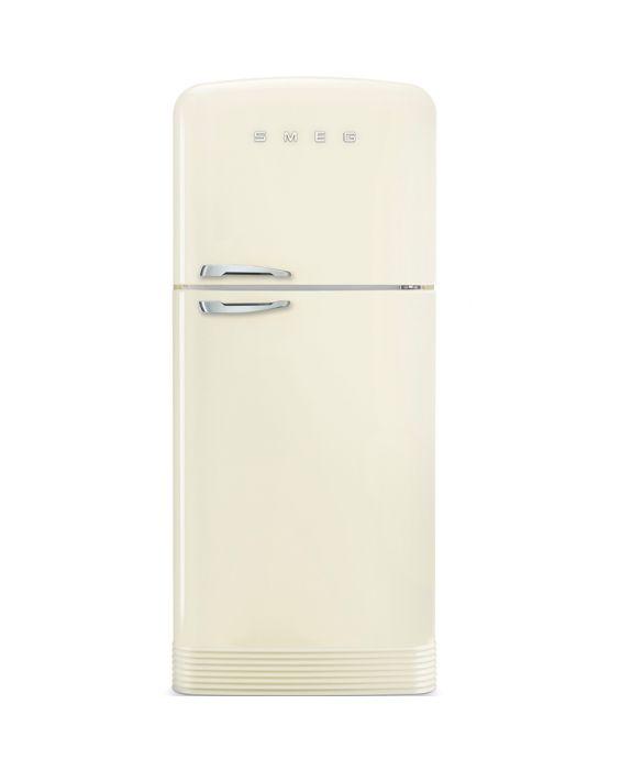 Smeg FAB50RCR - Standkühlgefrierkombination - Creme