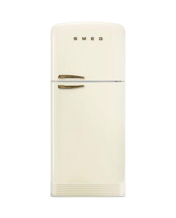 Smeg FAB50RCRB - Standkühlgefrierkombination - Messing - Creme