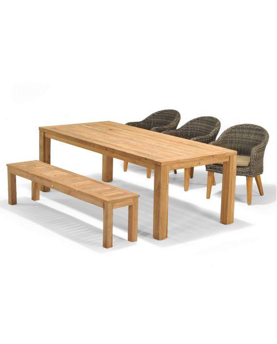 Set - Luna Sitzbank - 5-teilig